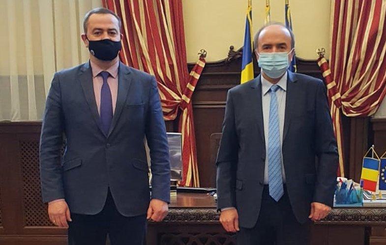 Consulul General al Republicii Moldova la Iași, vizită la UAIC