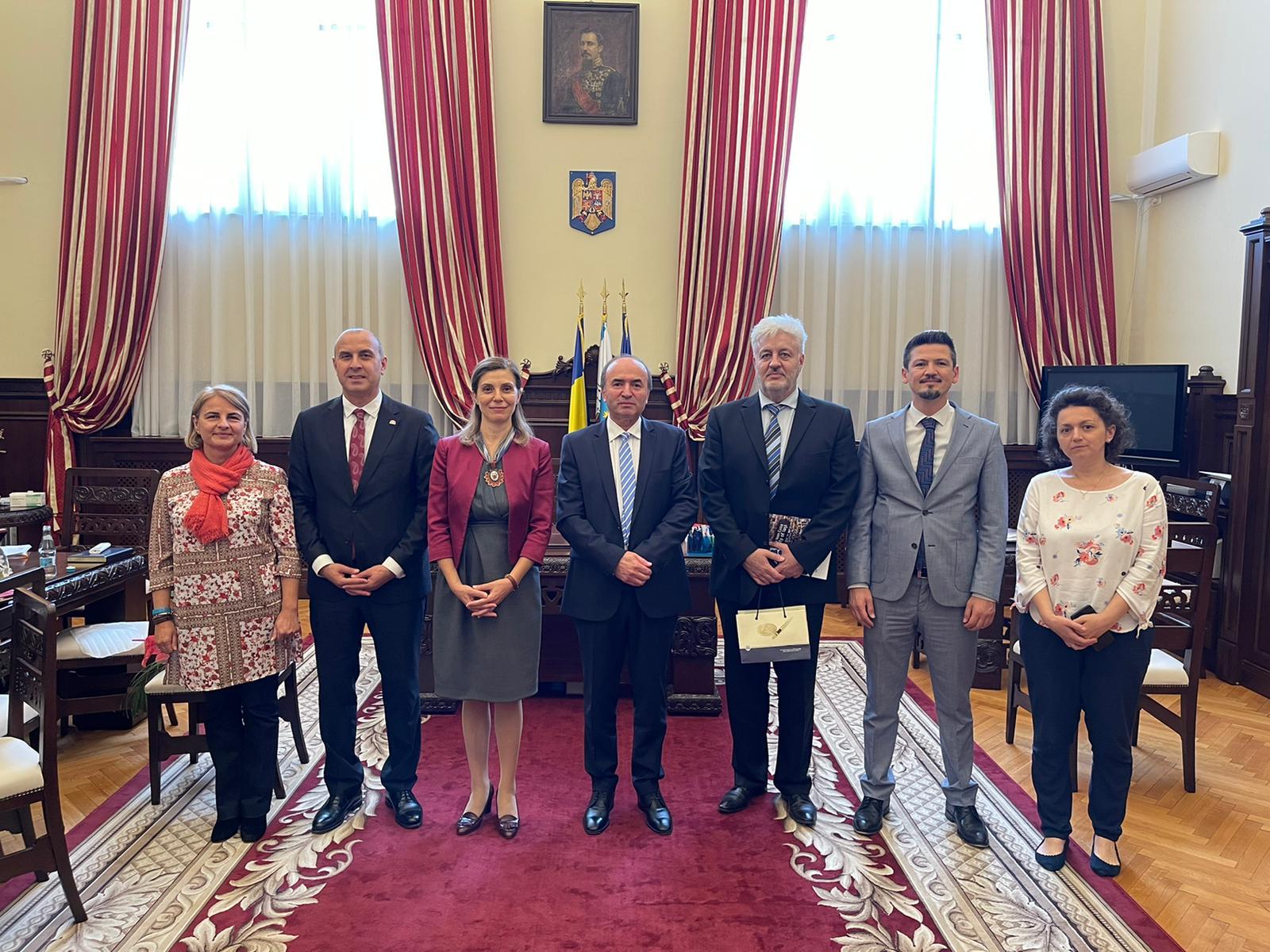 Ambasadorul Turciei în România, vizită oficială la UAIC