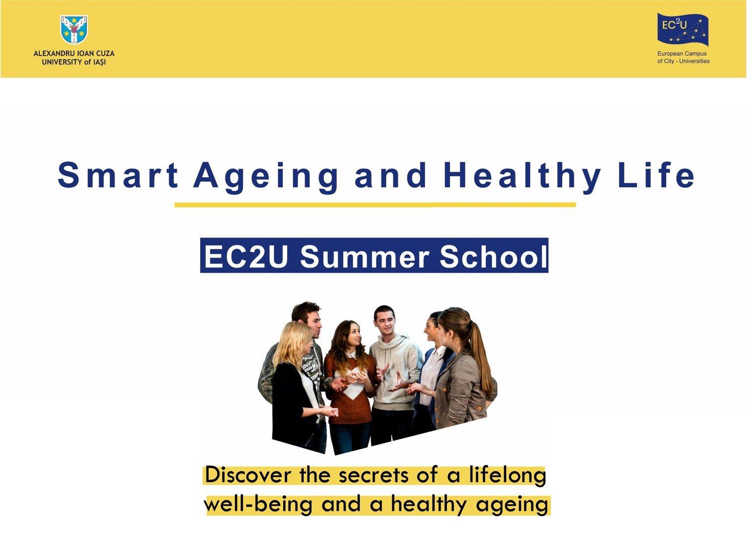 UAIC organizează prima Școală de Vară în cadrul alianței de Universități Europene EC2U