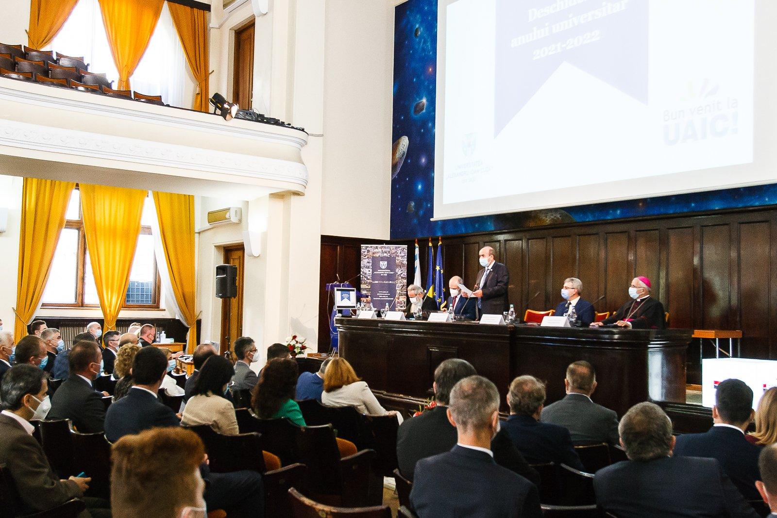 UAIC a deschis anul universitar 2021-2022