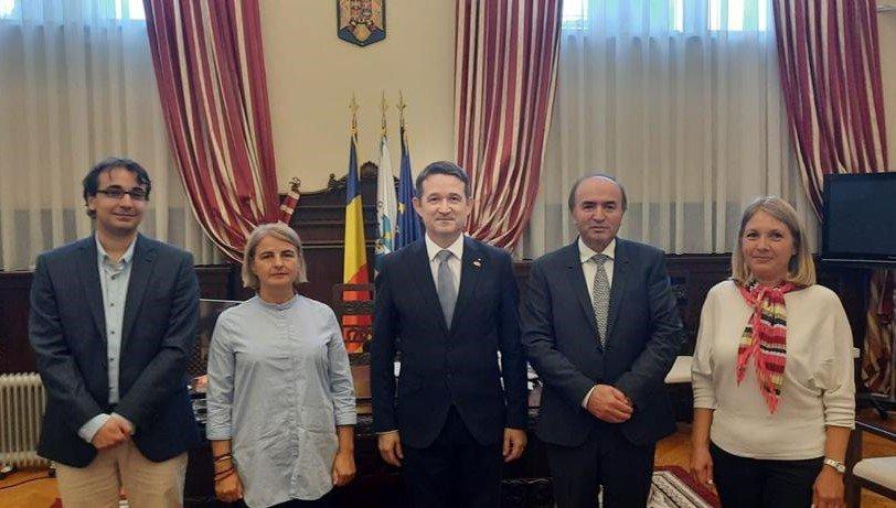 UAIC a primit vizita ambasadorului Elveției în România