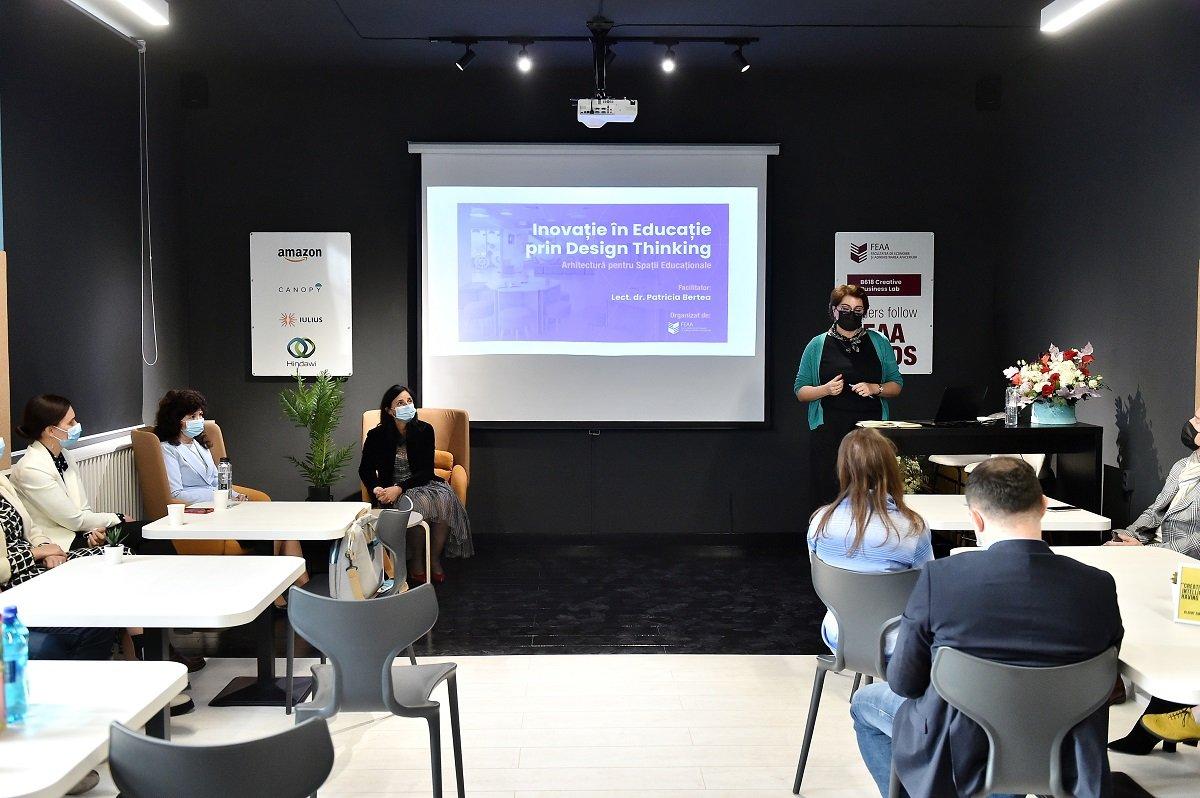S-a lansat Primul Creative Business Lab din cadrul UAIC